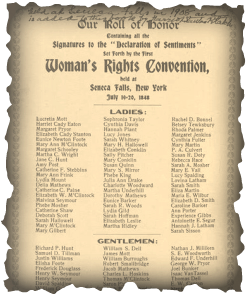 of sentiments essay declaration of sentiments essay